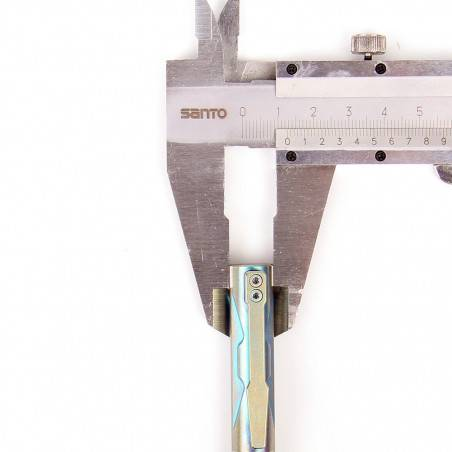 Manker P20 Titanium TC4 Tactical Pen Tungsten Steel Glass...