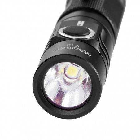 Manker E12 650lumen, AA Flashlight