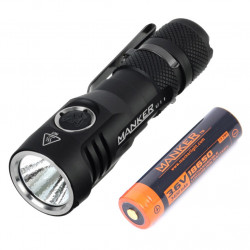 Manker U11 1050lumen, 252m Throw, Rechargeable