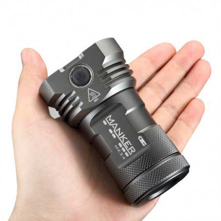 Manker MK34, 8000lumen, 280m Throw, Rechargeable