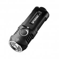 Manker T02 1500 lumens CREE XHP35 LED Flashlight Use 2x AA /...