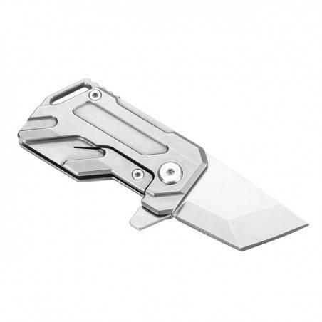 Manker Elfin Compact EDC Knife Titanium M390 Steel Folding...